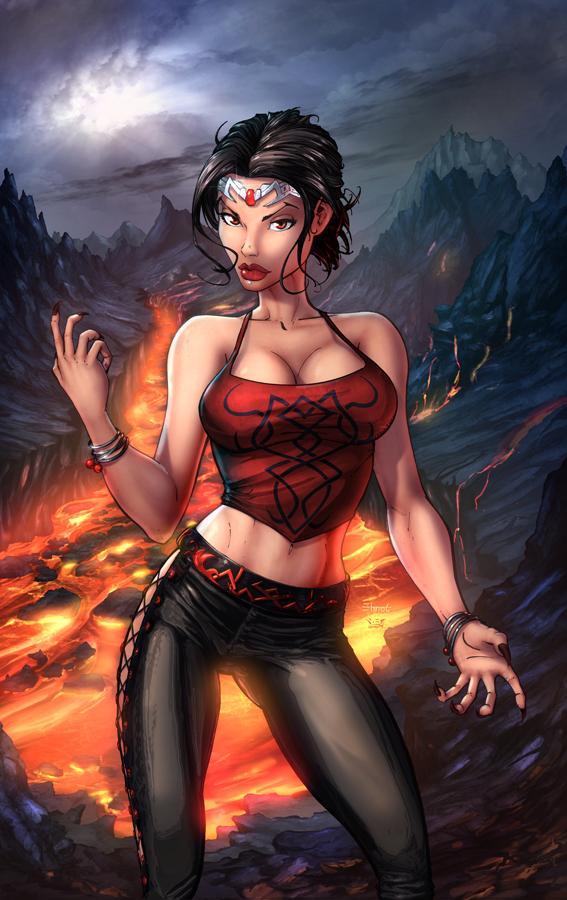 Dark Queen 1 - COVER by vest