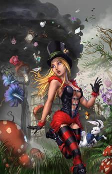 Wonderland Asylum #3 Cover