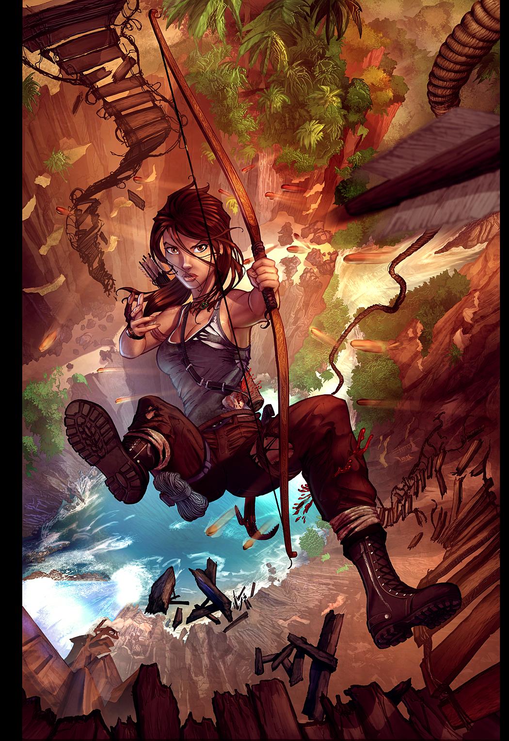 Lara Croft Reborn by vest