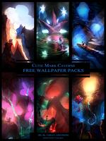 Cutie Mark Caverns Wallpaper Packs by vest