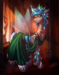 Queen Polistae Gala Dress