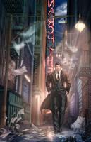 <b>Bruce Wayne In Crime Alley</b><br><i>vest</i>