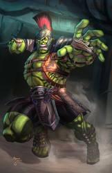 Gladiator Hulk by vest