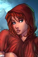 <b>Little Red Riding Hood (Cropped)</b><br><i>vest</i>