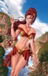 Elf Ranger Trista - Bikini