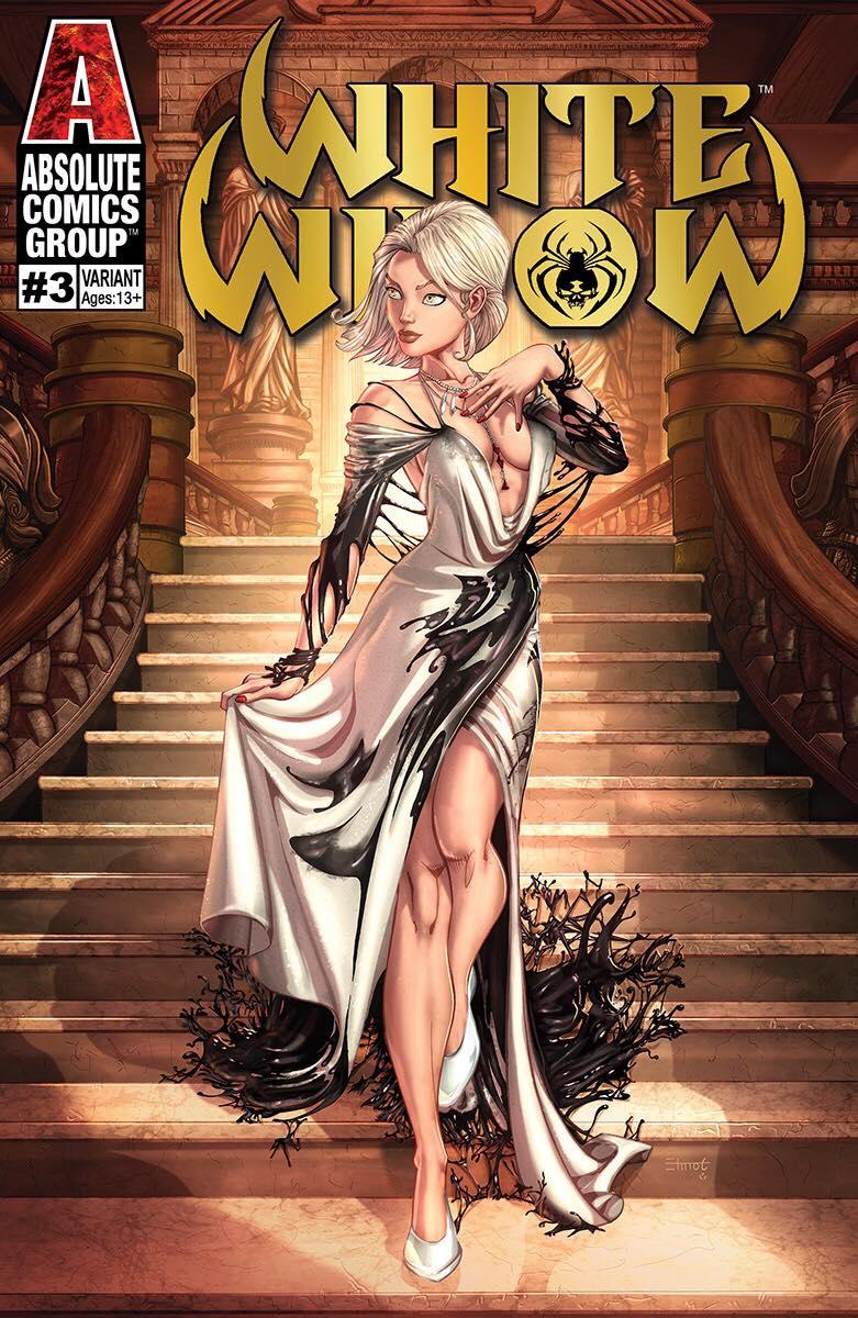 White Widow #3 Cover J