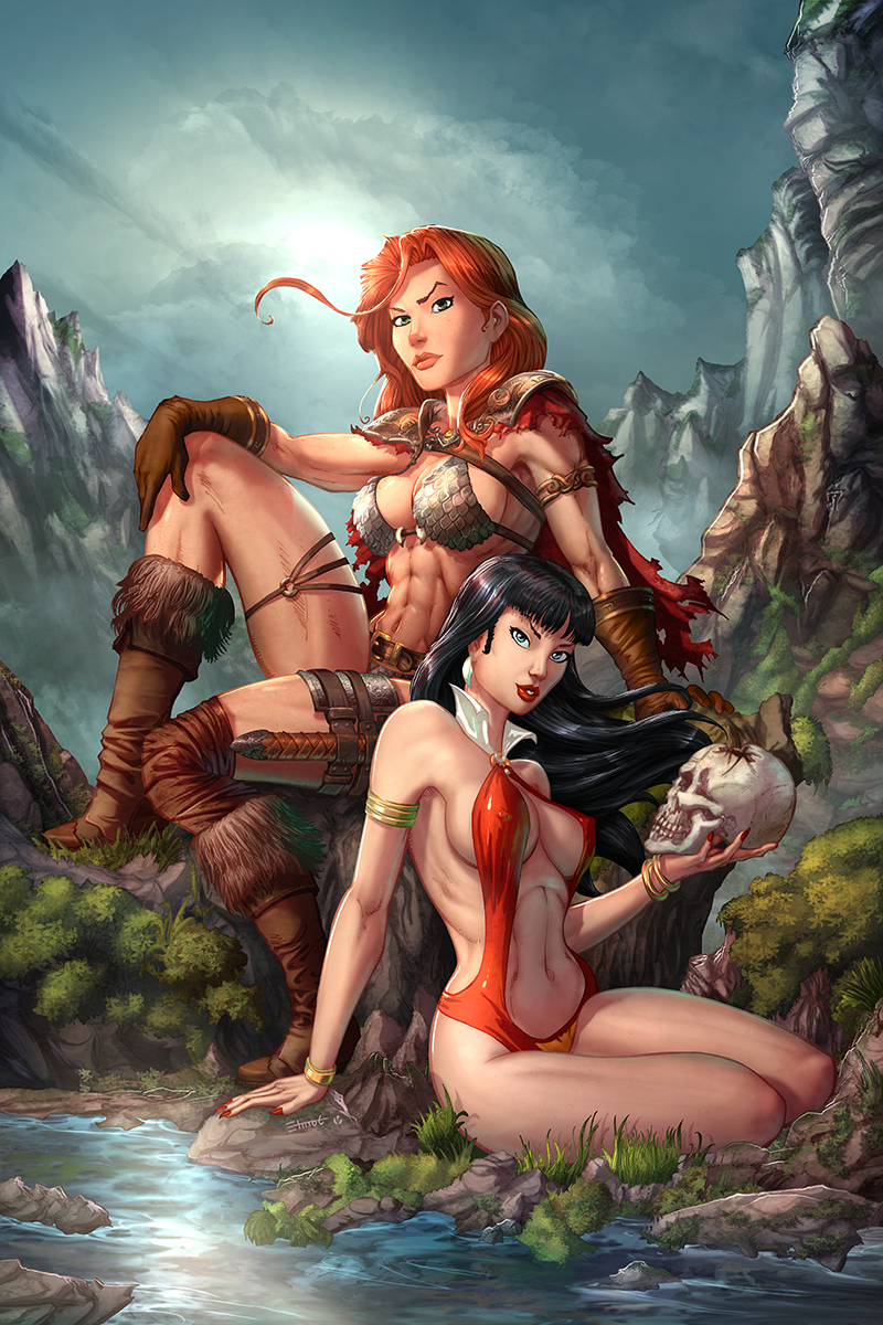 Vampirella/RedSonja #1 NYCC Exclusive