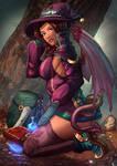 Balthani Demon Witch - Autumn Spread