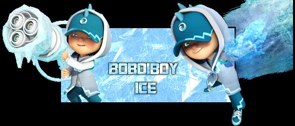 Boboiboy Ice By Nurmiraqistina On Deviantart