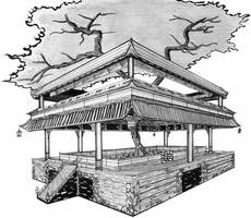 tree shrine