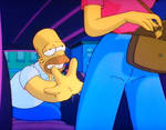 1001 Animations: Homer Badman