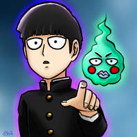 Mob Psycho 100 by seviesphere