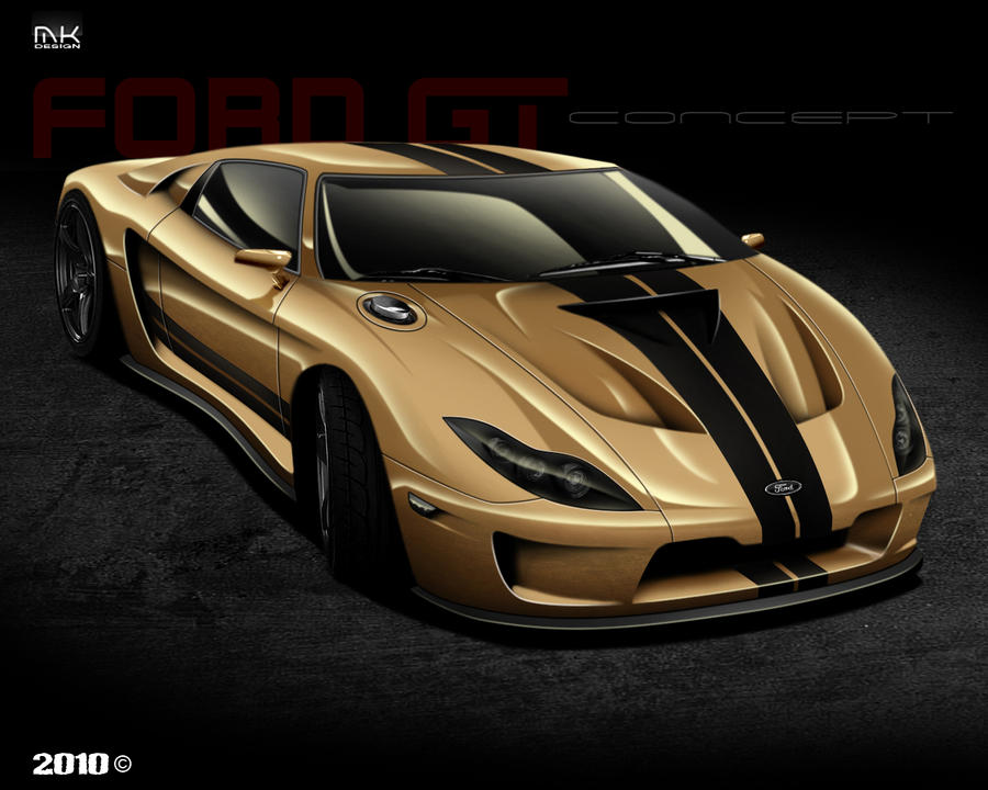 Ford Gt Concept By Iiik Dsign