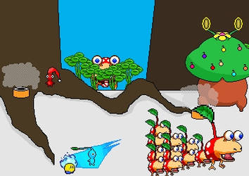 chrimas in pikmin by PikminSpriter