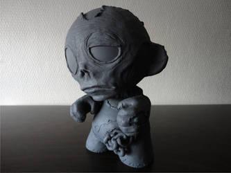 zombie munny 1 by MarcioLobo