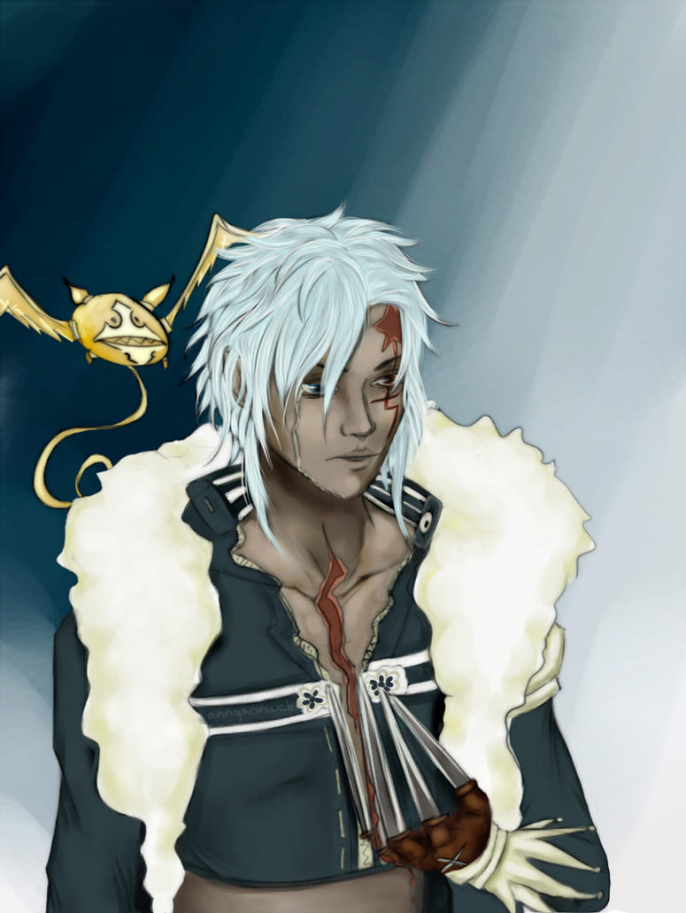 Allen Walker - D.gray-man by Annyaonweb