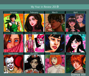 2019 Art Summary~
