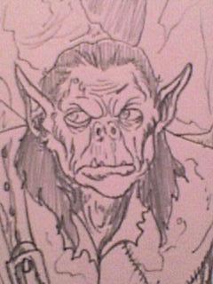 Cave orc. by smeagolisme