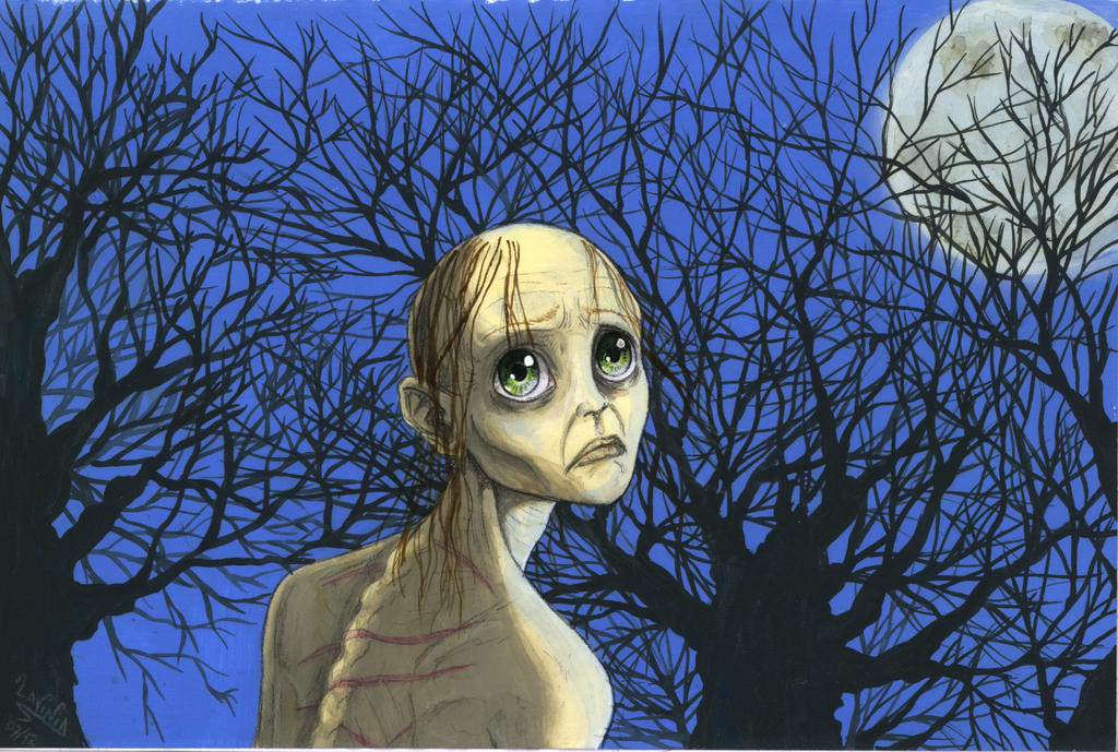 Smeagol, the Midnight walker