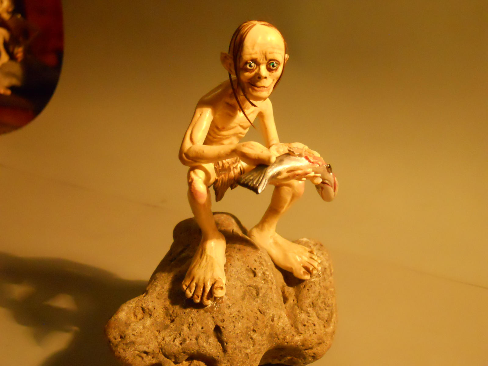 Smeagol Holding Ring Hd Eating smeagol figure bySmeagol Ring