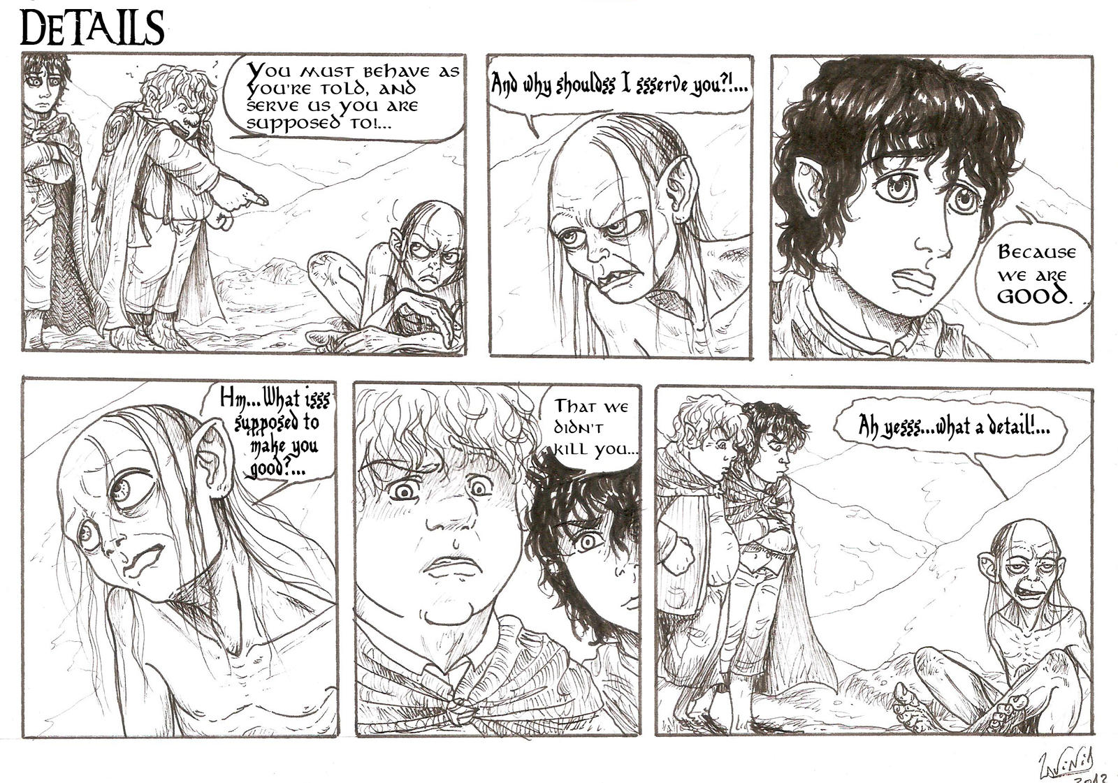 DETAILS strip by smeagolisme