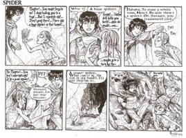 GIANT SPIDER strip by SkekLa