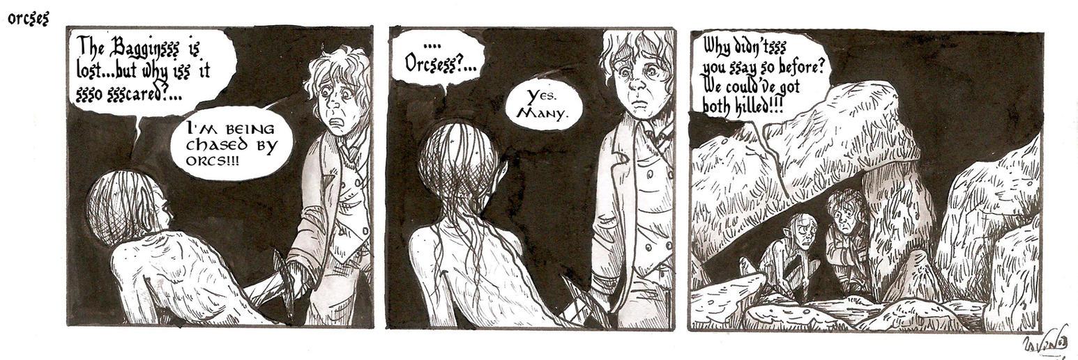 ORCSES strip by SkekLa