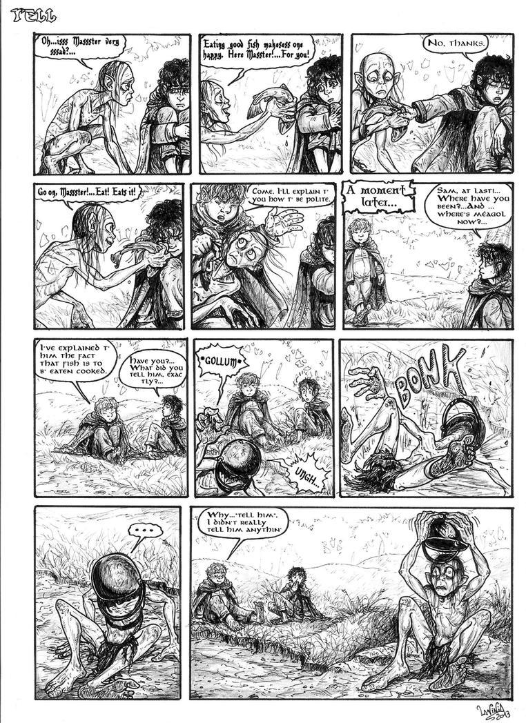 TELL strip by smeagolisme