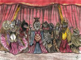 Skeksis court -Color. by SkekLa