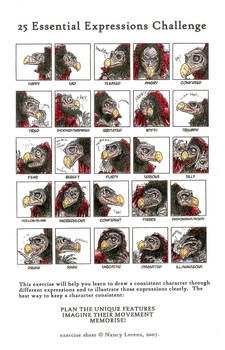 25 basic expressions challenge-The Chamberlain