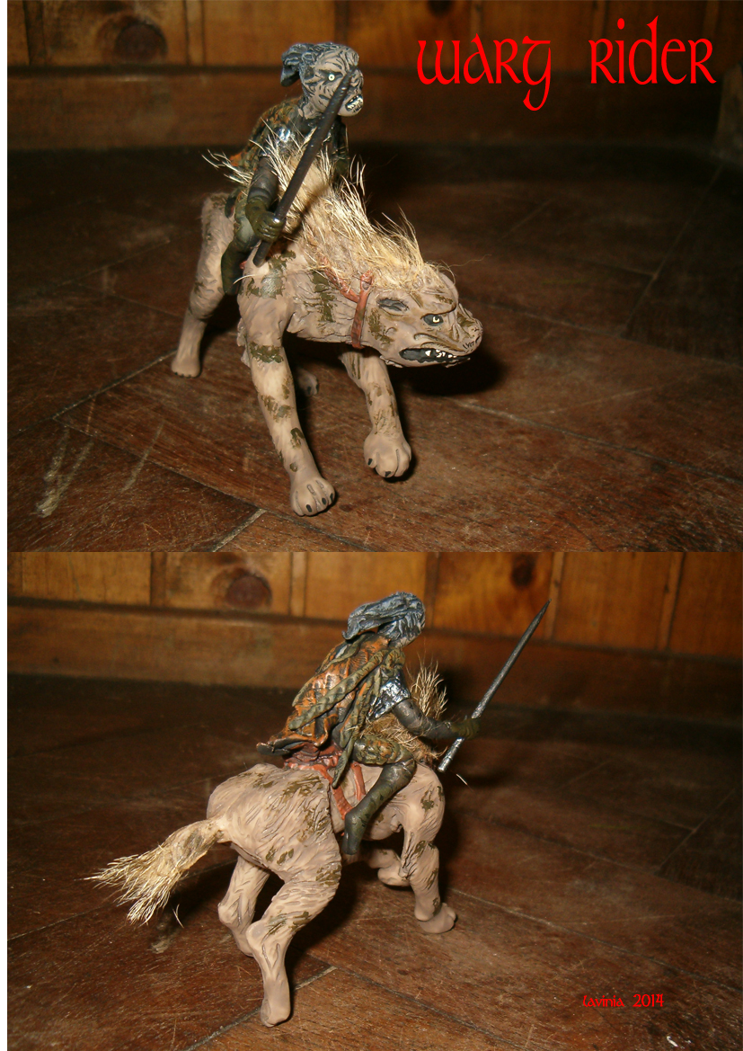 Warg Rider 1 by smeagolisme Warg Riders Drawings