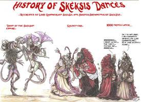 Skeksis Dance History  by SkekLa