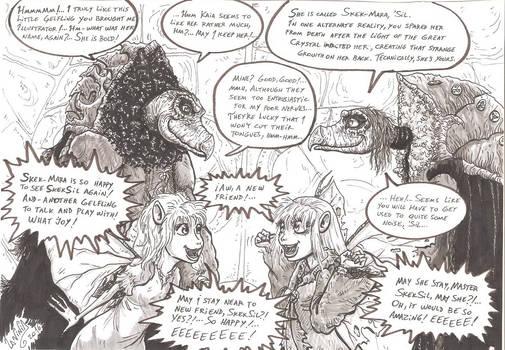 SkekSil reacts to SkekMara