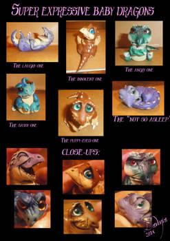 Super Expressive Baby Dragons