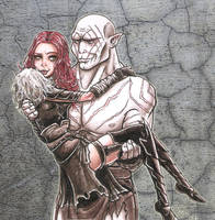 Azog and Rimkaur-Contest entry by SkekLa