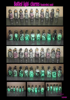 BOTTLED LIGHT charms
