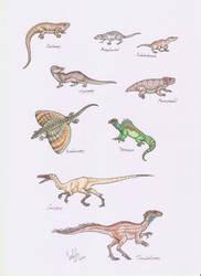 Prehistoric beastie commission