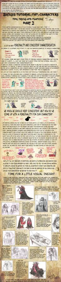 Skeksis tutorial- Fan-characters: CHARACTERISATION