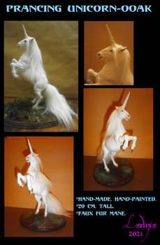 Prancing Unicorn Ooak