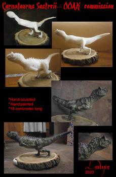 Carnotaurus Sastreii- Custom Sculpt