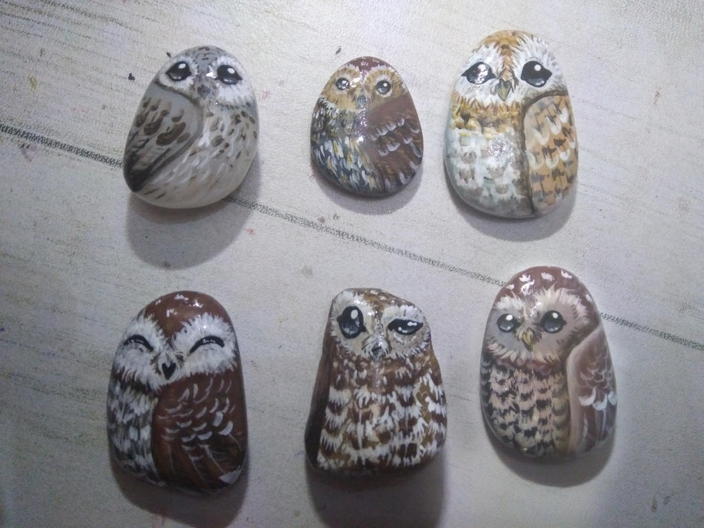 More stone owls