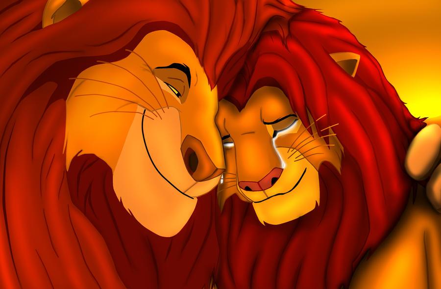 mufasa, sarabi and simba on lionkingfans12 - DeviantArt