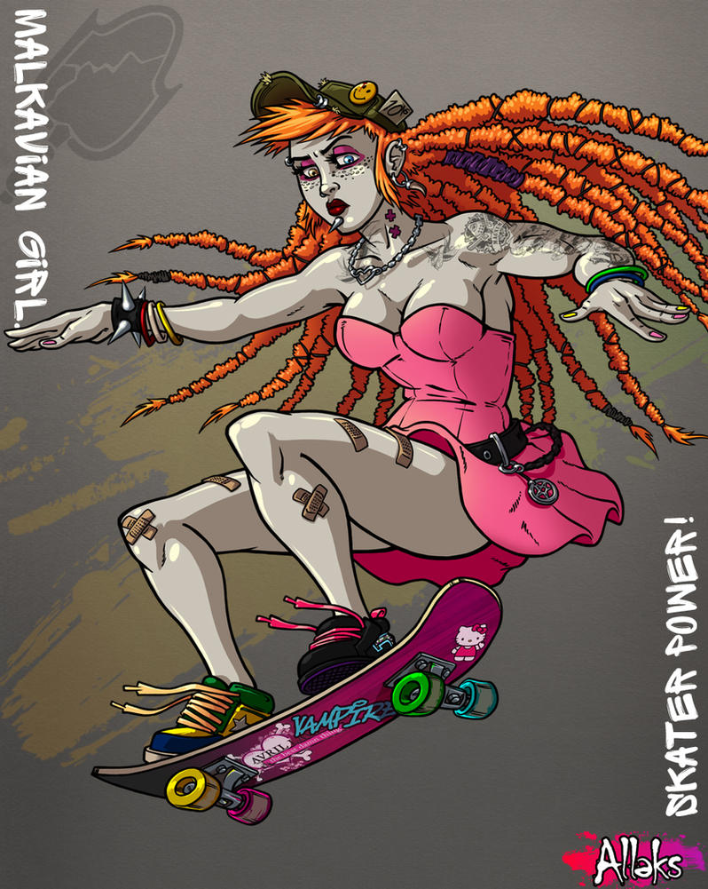 Skater Malk by A1eks