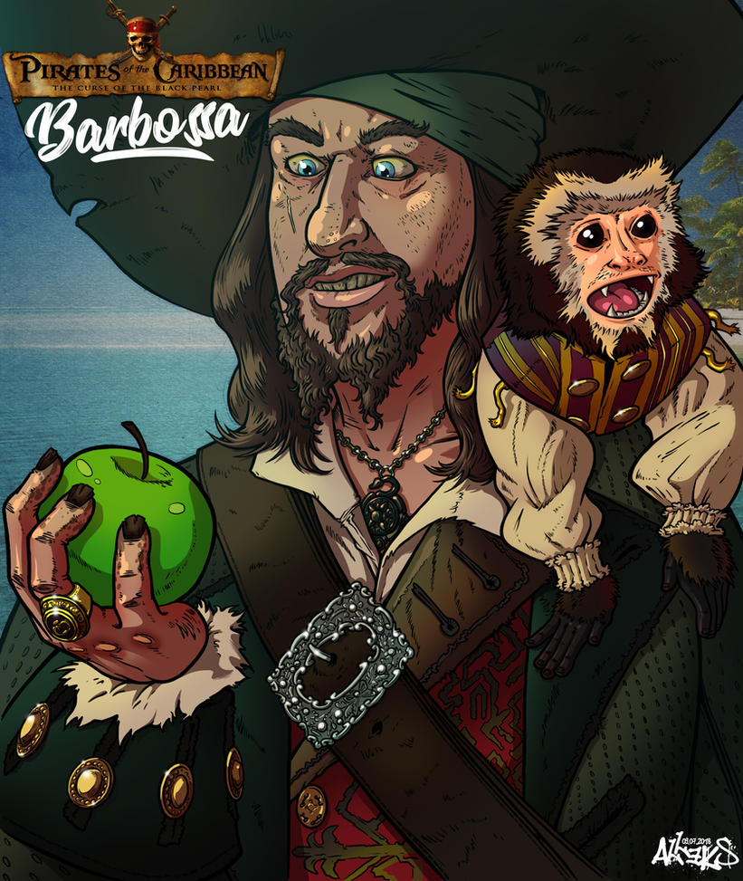 Barbossa by A1eks