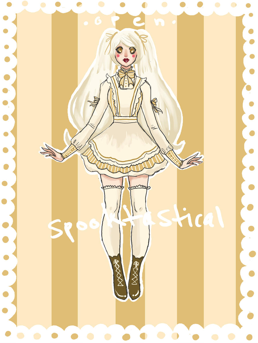 cream puff adopt - c l o s e d by Spooktastical