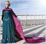 Elsa Frozen Coronation Cosplay - 11