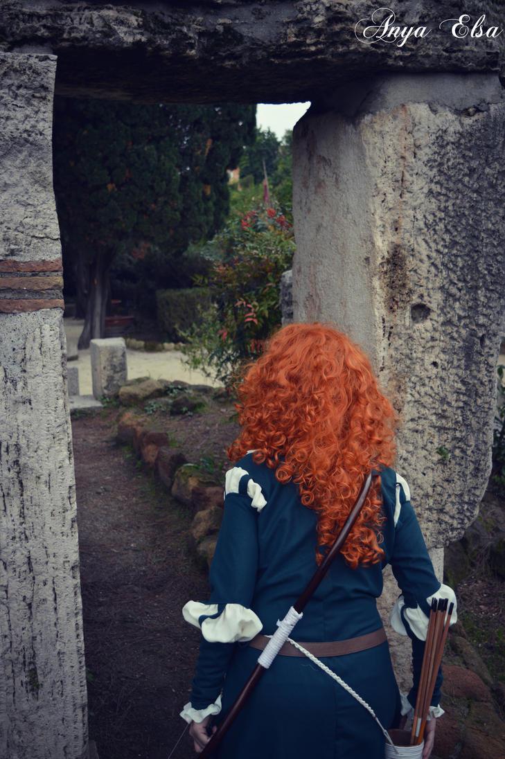 Merida - The Brave by ElsaRoby