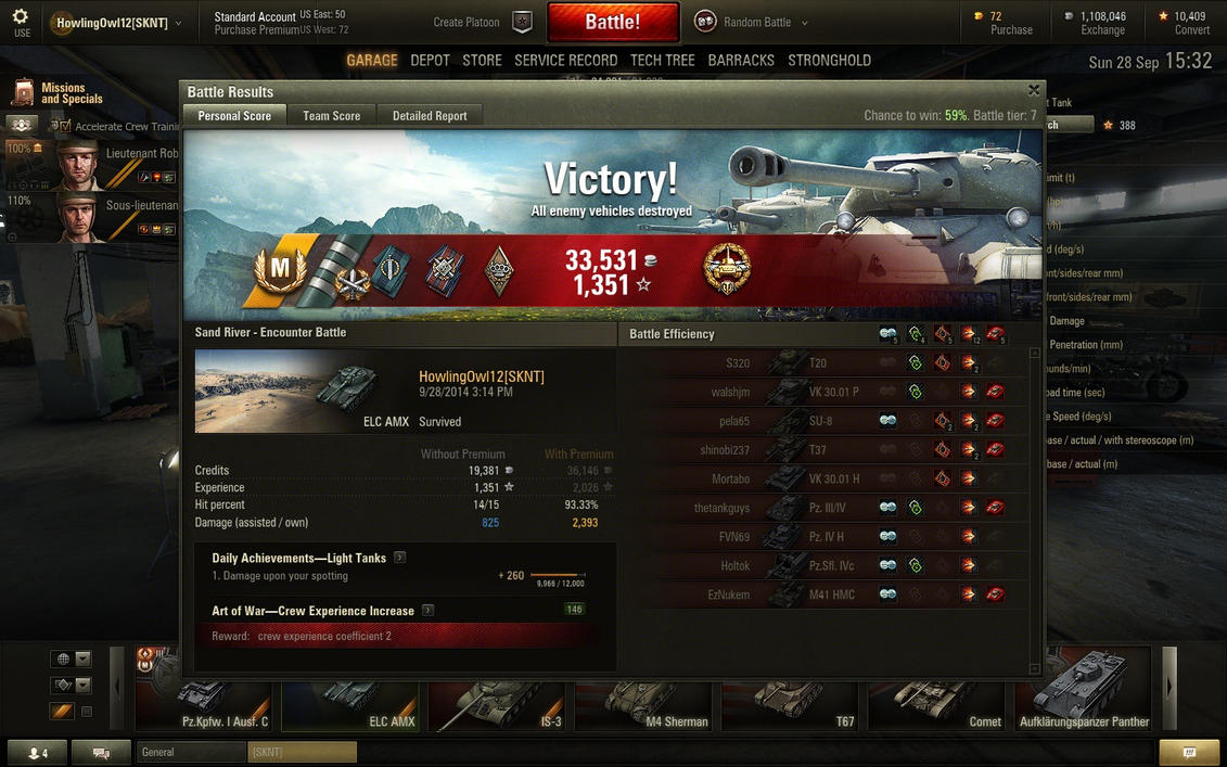 World of tanks elc amx matchmaking