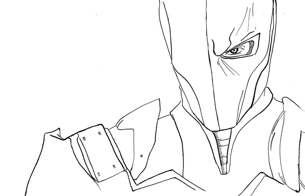 Pictures of Batman Arkham Origins Deathstroke Drawing - #rock-cafe
