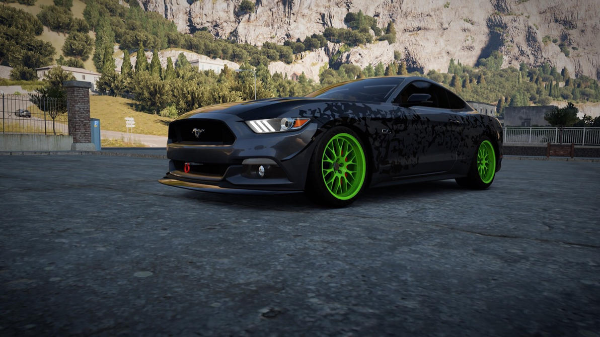 forza horizon 2 my custom 2015 ford mustang by xboxspartan1337 war on deviantart. Black Bedroom Furniture Sets. Home Design Ideas